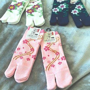 Japanese TABI sandal socks traditional footwear